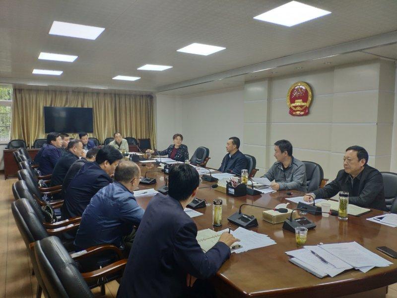 县人大办召开招商组团工作会议