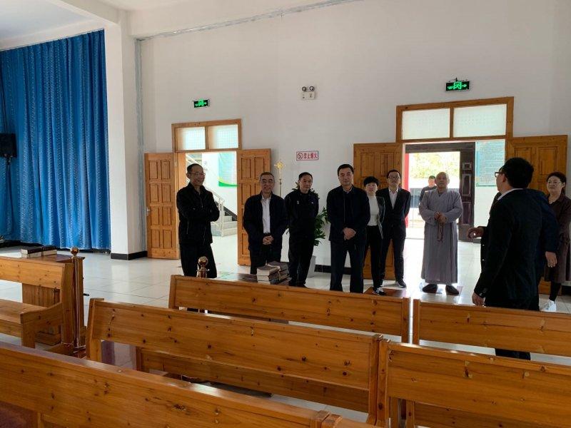 市人大调研组来怀调研宗教场所建设